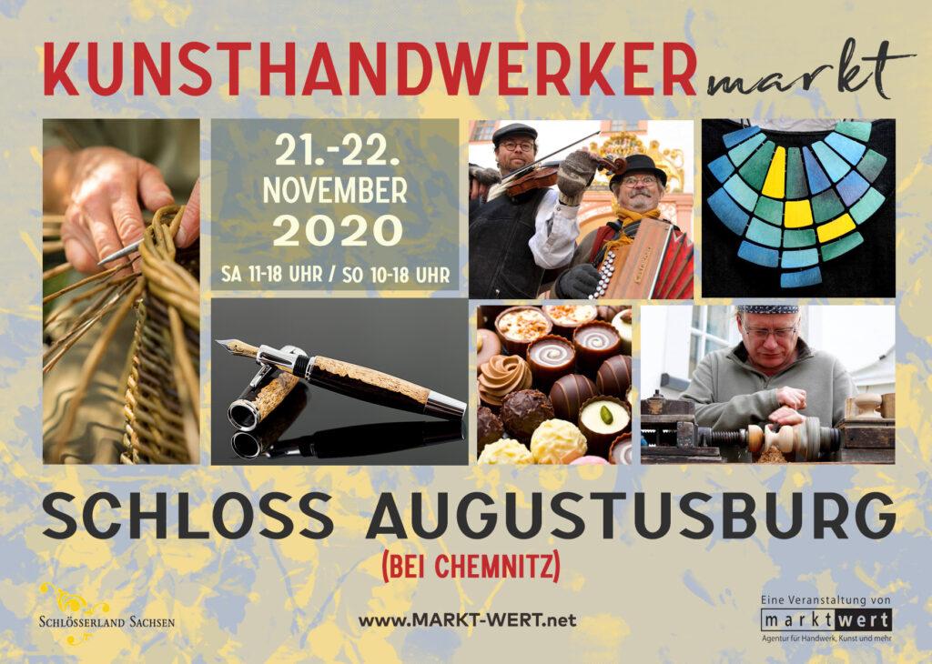 Kunsthandwerkermarkt Schloss Augustusburg